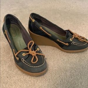 Sperry Top Sider Wedges Sz 7.5